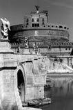 Castel Sant'Angelo in Rom Stockbild
