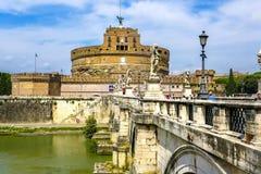 Castel Sant Angelo, Rom Stockfotografie