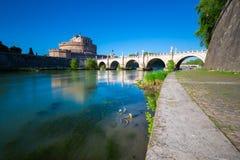 Castel Sant-` Angelo, Rom, Italien stockfotos