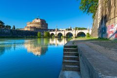 Castel Sant-` Angelo, Rom, Italien lizenzfreies stockbild