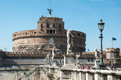 Castel Sant'angelo, Roma Imagens de Stock Royalty Free