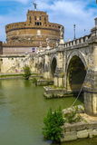 Castel Sant Angelo, Roma Fotografia Stock Libera da Diritti