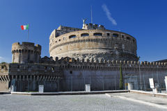Castel Sant'angelo, Roma, Italia. imagen de archivo