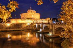 Castel Sant'angelo, Roma, Italia Imagen de archivo