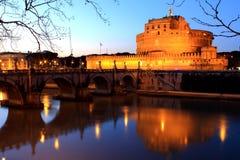 Castel Sant ' Angelo - Roma, Italia Fotografie Stock Libere da Diritti