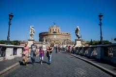 Castel Sant'angelo, Roma, Italy Imagens de Stock