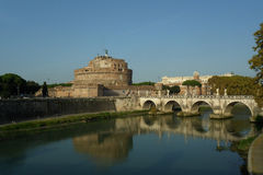 Castel Sant'angelo, Roma, Italy Fotografia de Stock