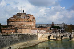 Castel SantAngelo. Roma, Italy Royalty Free Stock Image