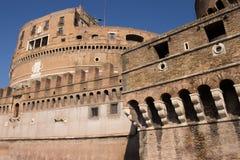 """Castel Sant """"Angelo a Roma sotterra per l'imperatore Hadrian e la sua famiglia immagini stock libere da diritti"""