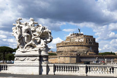 Castel Sant Angelo - Rome Royalty Free Stock Photos