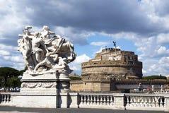 Castel Sant Angelo - Rome Royalty Free Stock Photos