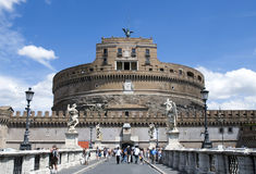 Castel Sant Angelo - Rome Royalty Free Stock Image