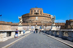 Castel Sant Angelo - Rome Stock Photo
