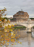 Castel Sant'Angelo in Rome Stock Photo
