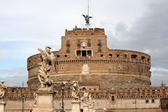 Castel Sant'Angelo in Rome Royalty Free Stock Photography