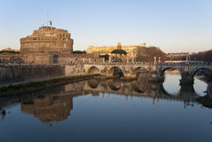 Castel Sant' Angelo, Rome Royalty Free Stock Images