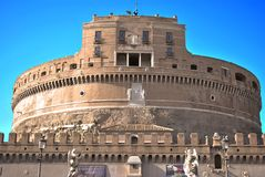 Castel sant angelo in rome Stock Image