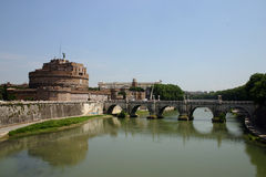 Castel Sant'Angelo - Rome Royalty Free Stock Photo