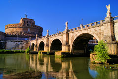 Castel Sant'Angelo, Rome Royalty Free Stock Photos