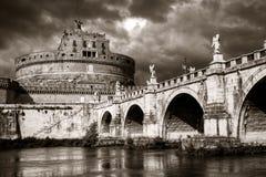 Castel Sant'Angelo, Rome Royaltyfri Bild