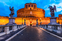 Castel Sant Angelo, Rome Stock Afbeeldingen