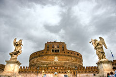 Castel Sant'angelo, Rome. Royalty Free Stock Photography