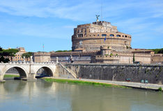 Castel Sant`Angelo Stock Images