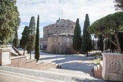 Castel Sant Angelo, Rome Stock Afbeelding