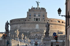 Castel Sant ` Angelo, Rome Royalty-vrije Stock Foto's