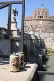 Castel Sant ` angelo Rome Arkivbilder