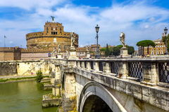 Castel Sant Angelo, Rome Stock Images