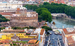 Castel Sant`Angelo in Rome Stock Photography