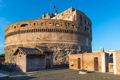 Castel Sant`Angelo in Rome Royalty Free Stock Photography