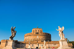 Castel Sant'angelo, Rome, Ita Royalty Free Stock Photos