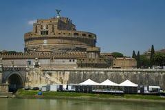 Castel Sant'angelo, Rome, Italië. Royalty-vrije Stock Foto