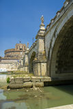 Castel Sant'angelo, Rome, Italië. Royalty-vrije Stock Foto's