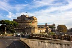 Castel Sant Angelo, Rome, Italië stock fotografie