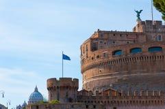 Castel Sant Angelo in Rome, Italië Stock Fotografie
