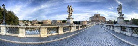 Castel Sant ` Angelo in Rome, Italië stock fotografie