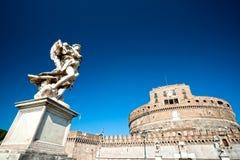 Castel Sant'angelo, Rome, Italie. Image libre de droits