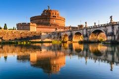 Castel Sant Angelo, Rome, Italie Photos libres de droits