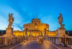 Castel Sant ' Angelo - Rome - Italien Royaltyfri Bild