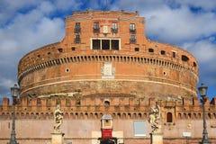 Castel Sant ` Angelo, Rome, Italien Arkivbilder