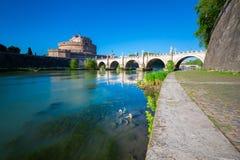 Castel Sant ` Angelo, Rome, Italien royaltyfri fotografi
