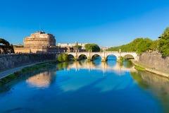Castel Sant ` Angelo, Rome, Italien royaltyfria foton