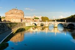 Castel Sant'angelo, Rome, Italy. Royalty Free Stock Photo