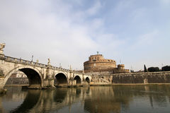 Castel Sant' Angelo, Rome, Italy Royalty Free Stock Image