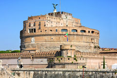 Castel Sant' Angelo in Rome, Italy Royalty Free Stock Photos