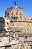 Castel Sant' Angelo in Rome, Italy Royalty Free Stock Photography