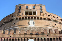 Castel Sant' Angelo in Rome, Italy Stock Photos